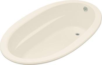 Kohler K-1165-47 Sunward 6' Oval Bath - Almond