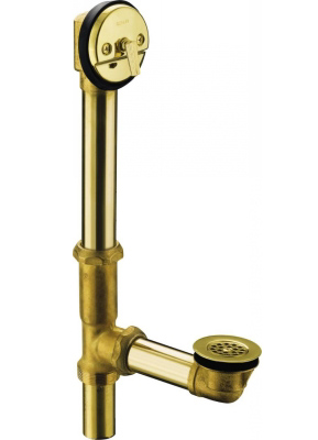 Kohler K-11660-PB Swiftflo Adjustable Trip Lever Drain - Polished Brass