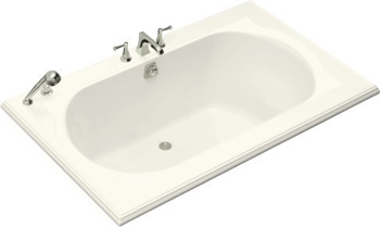 Kohler K-1169-96 Memoirs 5.5' Bath - Biscuit (Faucet and Accessories Not Included)