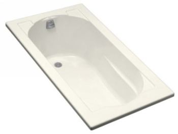 Kohler K-1184-96 Devonshire Drop-In Bath - Biscuit