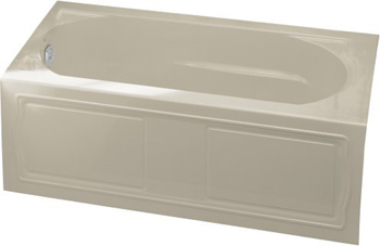 Kohler K-1184-LA-G9 Devonshire 5' Bath With Integral Apron And Left Hand Drain - Sandbar