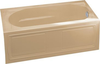Kohler K-1184-RA-33 Devonshire 5' Bath With Integral Apron and Right Hand Drain - Mexican Sand