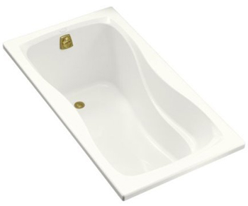 Kohler K-1219-0 Hourglass 5' Bath - White