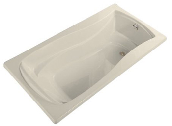 Kohler K-1259-47 Mariposa 6' Bath With Reversible Drain - Almond