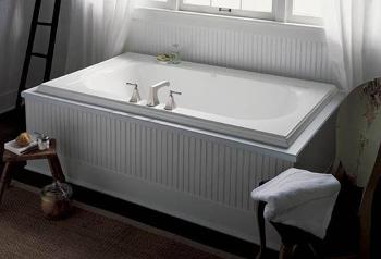 Kohler K-1417-0 Memoirs 6' Bath - White