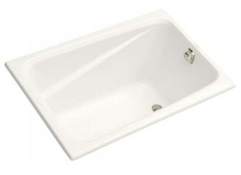 Kohler K-1490-X-0 Greek 4 Foot Drop In Soaking Tub - White