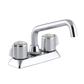 Kohler K-15270-B-CP Coralais Two Handle Centerset Laundry Faucet - Polished Chrome
