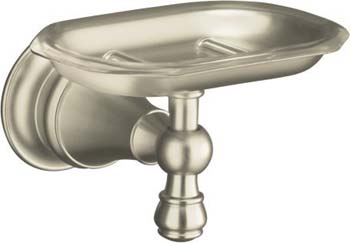 Kohler K-16142-BN Revival Soap Dish - Brushed Nickel
