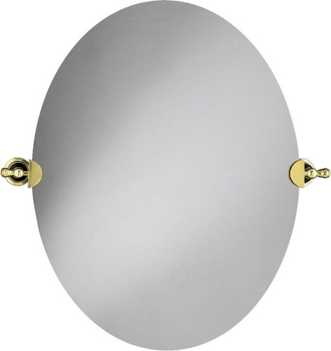 Kohler K-16145-PB Revival Oval Wall Mirror - Polished Brass