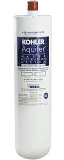 Kohler K-201 Aquifer Hi-Flow Replacement Filter Cartridge (Fits K-200 System)