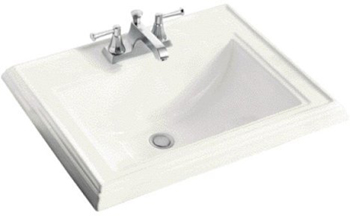 Kohler K-2241-4-96 Memoirs Self-Rimming Lavatory With 4