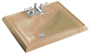 Kohler K-2241-8-33 Memoirs Self-Rimming Lavatory With 8
