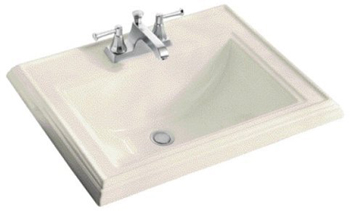 Kohler K-2241-8-47 Memoirs Self-Rimming Lavatory With 8