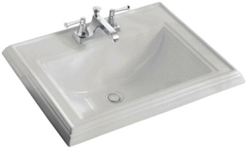 Kohler K-2241-8-95 Memoirs Self-Rimming Lavatory With 8