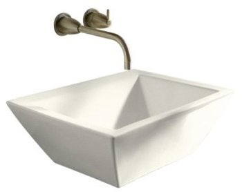 Kohler K-2273-96 Bateau Vessels Lavatory - Biscuit (Faucet Not Included)