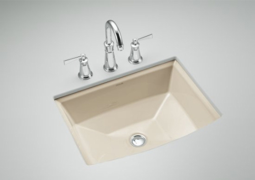Kohler K-2355-47 Archer Undercounter Lavatory - Almond (Faucet Not Included)