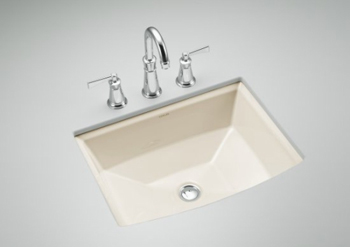 Kohler K-2355-96 Archer Undercounter Lavatory - Biscuit (Faucet Not Included)