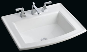 Kohler K-2356-4-0 Archer Self-Rimming Lavatory With 4