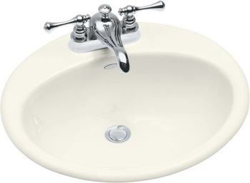 Kohler K-2905-4-96 Farmington Self-Rimming Lavatory With 4