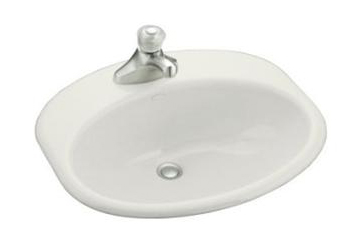 Kohler K-2929-4-0 Providence Self-Rimming Lavatory With 4