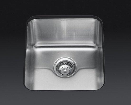 Kohler K 3331 Undertone Single Basin Stainless Steel Kitchen Sink Faucetdepot Com