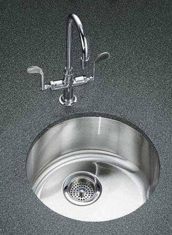 Kohler K-3341 Undertone Single Basin Stainless Steel Kitchen Sink ...