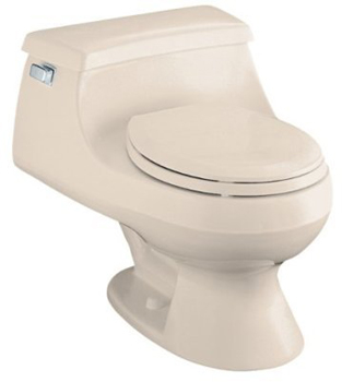Kohler K-3386-55 Rialto One-piece Round-Front Toilet - Innocent Blush