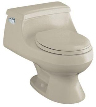 Kohler K-3386-G9 Rialto One-piece Round-Front Toilet - Sandbar