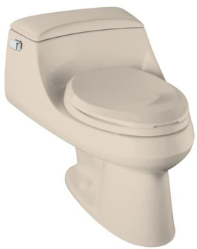 Kohler K-3466-55 San Raphael Elongated Toilet with Concealed Trapway - Innocent Blush