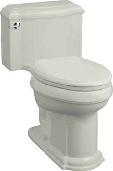Kohler K-3488-95 Devonshire Comfort-Height Toilet - Ice Grey