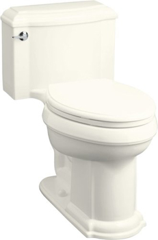 Kohler K-3488-96 Devonshire Comfort-Height Toilet - Biscuit