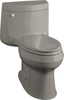 Kohler K-3489-K4 Cimarron Comfort Height Elongated One Piece Toilet - Cashmere