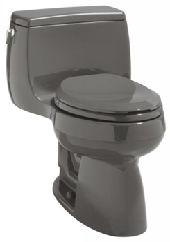 Kohler K-3513-58 Gabrielle Comfort Height One-Piece Elongated Toilet - Thunder Grey