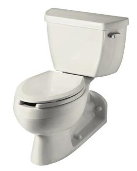 Kohler K 3554 Ra 96 Barrington Two Piece Elongated Toilet