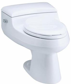 Kohler K-3597-0 San Raphael Comfort Height Pressure Lite 1.0 GPF Toilet - White