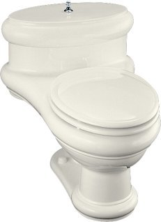 Kohler K-3612-96 Revival One-Piece Elongated Toilet - Biscuit