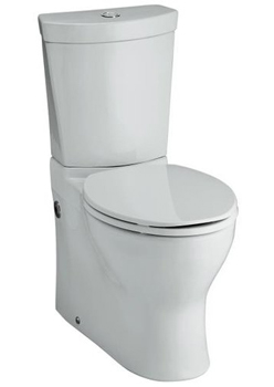 Kohler K-3654-0 Persuade Two Piece Elongated Toilet with 12