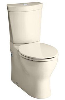 Kohler K-3654-47 Persuade Two Piece Elongated Toilet with 12