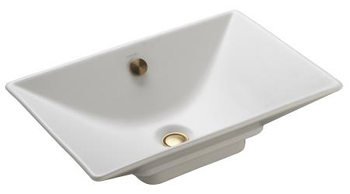 Kohler K-4819-47 Reve Vessels Lavatory - Almond (Pictured in White)