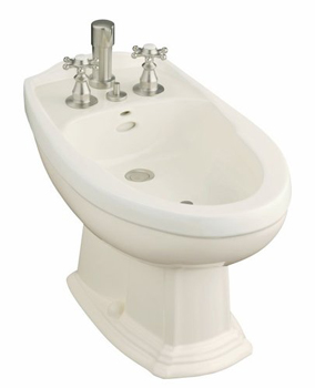 Kohler K-4897-47 Portrait Bidet - Almond (Pictured in Biscuit)