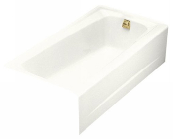 Kohler K-506-0 Mendota 5' Bath With Right-Hand Drain - White