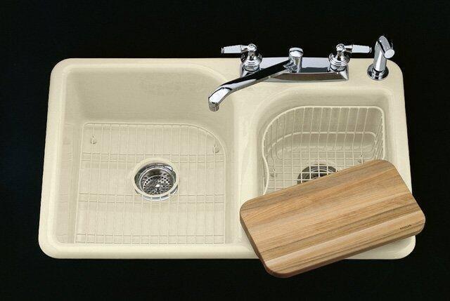Kohler K 5948 4 0 Efficiency Self Rimming Kitchen Sink