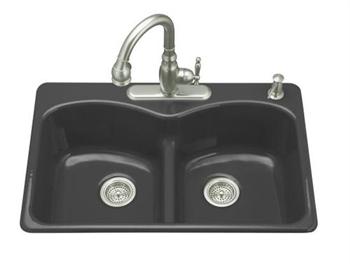 Kohler K 6626 1 7 Langlade Smart Divide Kitchen Sink