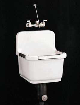 Kohler K-6652-0 Sudbury Vitreous China Utility Sink - White