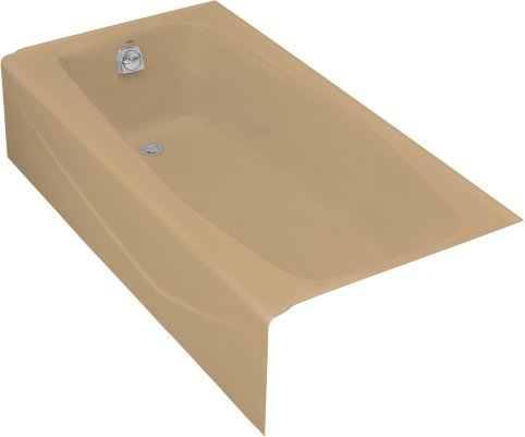 Kohler K-715-33 Villager Bath With Left-Hand Drain - Mexican Sand ...