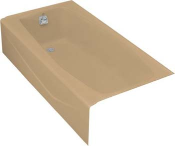Kohler K-715-33 Villager Bath With Left-Hand Drain - Mexican Sand