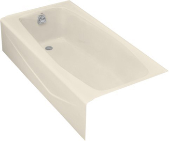 Kohler K-715-47 Villager Bath With Left-Hand Drain - Almond
