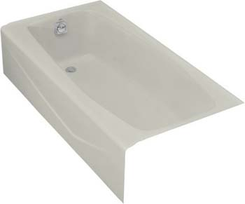 Kohler K-715-95 Villager Bath With Left-Hand Drain - Ice Grey