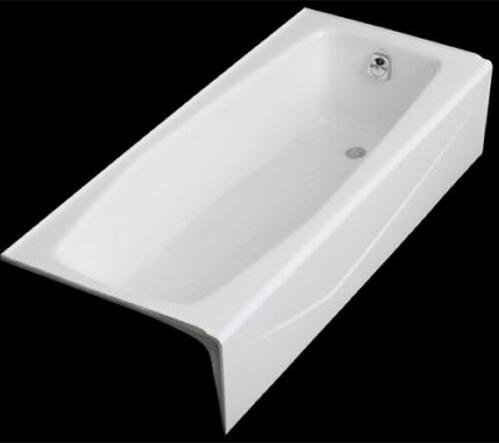 Kohler K 716 0 Villager Bath With Right Hand Drain White