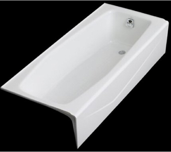 Kohler K-716-0 Villager Bath With Right-Hand Drain - White